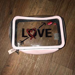 Love Victoria secret makeup pouch